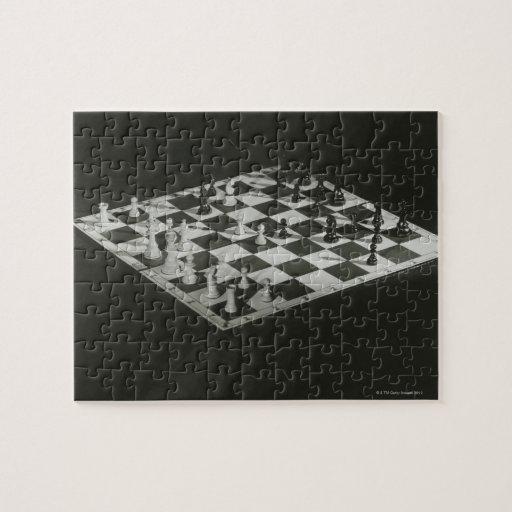 Zazzle Chess Board Jigsaw Puzzle