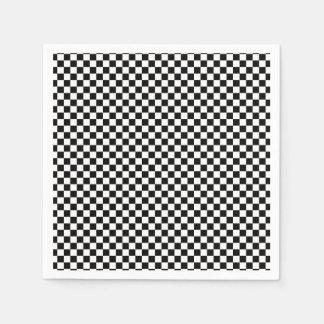 Chess Board Napkin