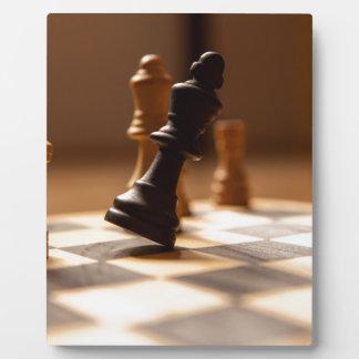 Chess board plaque