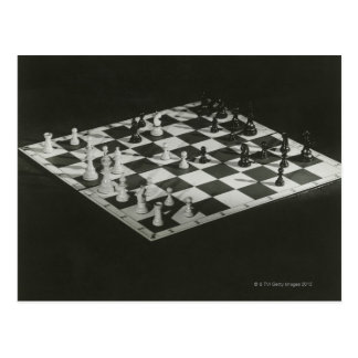 Chess Board Postcard