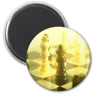 Chess Board Round Magnet Fridge Magnets