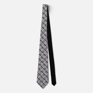 Chess board style tie