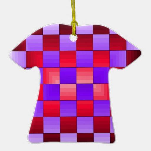 Chess Board X1 CricketDiane Spectrum Colors Ornament
