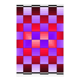 Chess Board X1 CricketDiane Spectrum Colors Custom Stationery