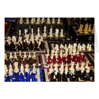 Chess Boards Madness Card