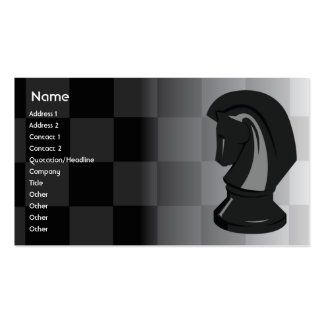 Chess - Business Business Card Template