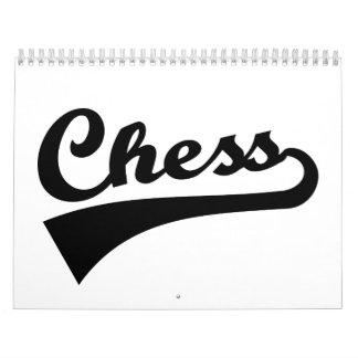 Chess Calendar