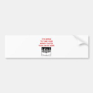chess car bumper sticker
