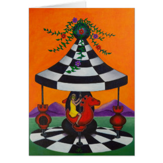 Chess Carousel Card