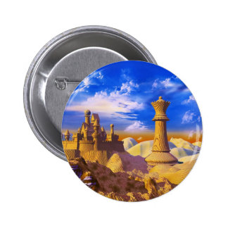 Chess Castle 2 Inch Round Button