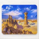 Chess Castle Mouse Pad