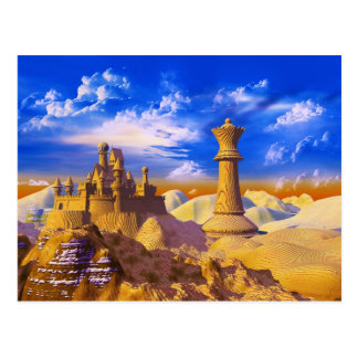 Chess Castle Postcard