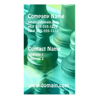 Chess Champ Business Cards