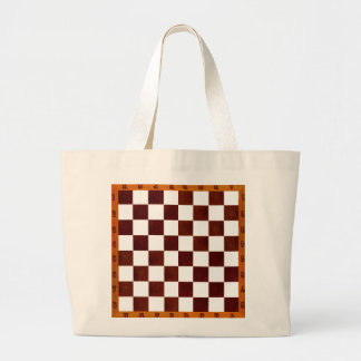 chess/chcckers tote bag
