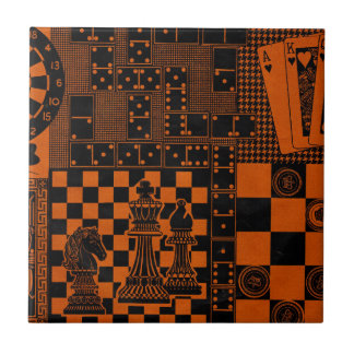 chess checkers dominos dominoes ceramic tile