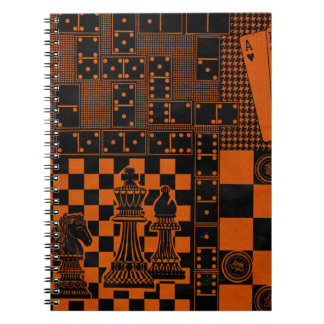 chess checkers dominos dominoes spiral note books
