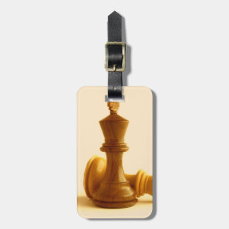 Chess Checkmate  Luggage Tag