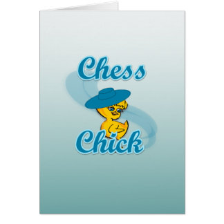 Chess  Chick #3 Card