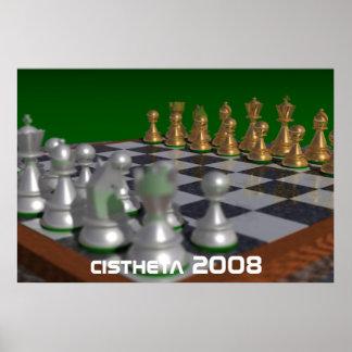 chess cistheta 2008 poster