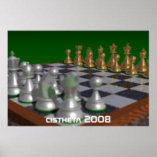 chess, cistheta 2008 poster