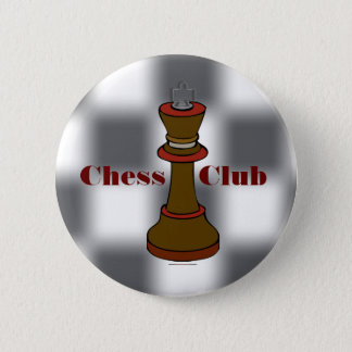 Chess Club or Chess Team Button
