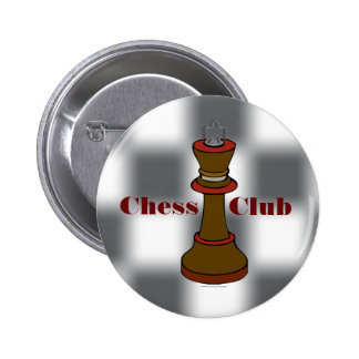 Chess Club or Chess Team Button
