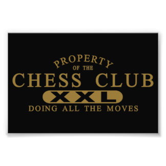 Chess Club Photographic Print