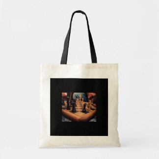 Chess Club Tote Budget Tote Bag