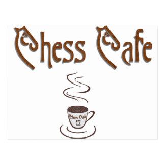 Chess Coffee Postcard