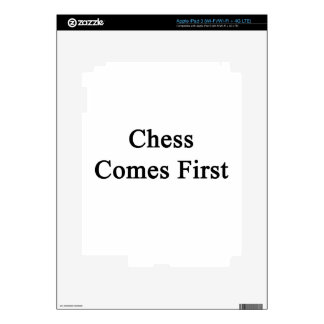 Chess Comes First iPad 3 Skins