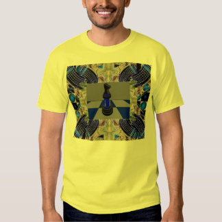 Chess CricketDiane Illusion Design T-Shirt