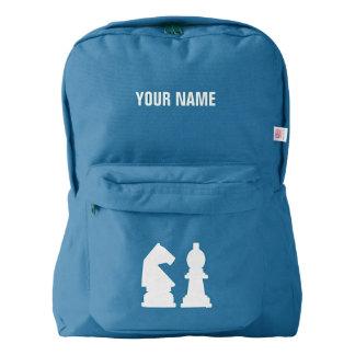 CHESS custom monogram backpacks