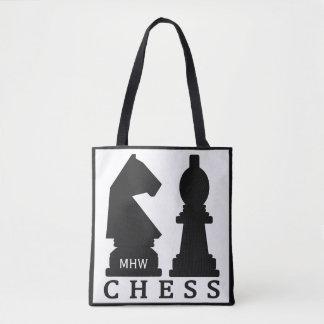 CHESS custom monogram bags