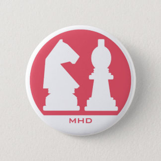 CHESS custom monogram & color buttons
