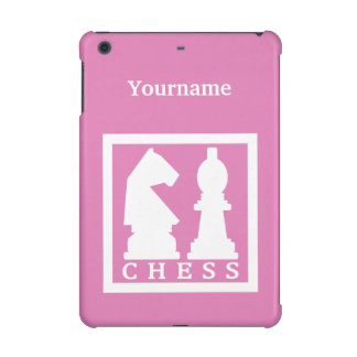 CHESS custom monogram & color cases iPad Mini Covers