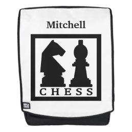 CHESS custom name backpack