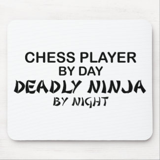 Chess Deadly Ninja by Night Mouse Pad