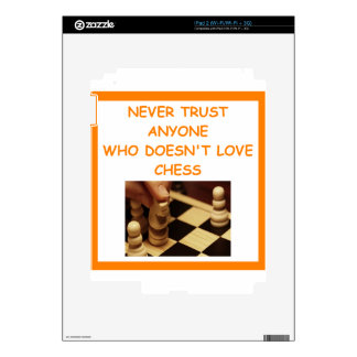 CHESS DECAL FOR iPad 2