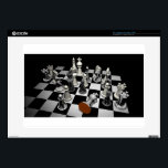 """Chess Decals For Laptops<br><div class=""""desc"""">Chess is a two-player strategy board game played on a chessboard,  a checkered gameboard with 64 squares arranged in an 8&#215;8 grid.The game is played by millions of people worldwide.</div>"""