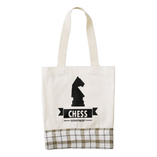 Chess Department Zazzle HEART Tote Bag