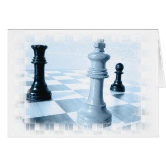 Chess Design  Greeting Card