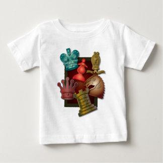 Chess Design King Queen Knight Bishop Pawn Tee Shirt