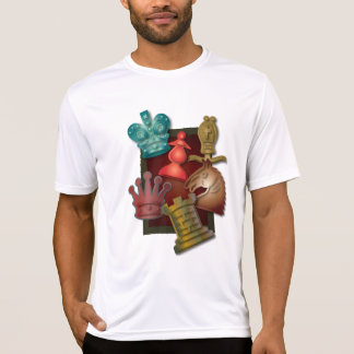 Chess Design King Queen Knight Bishop Pawn Tee Shirt