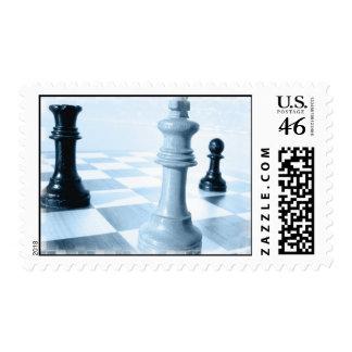 Chess Design Postage Stamp