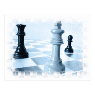 Chess Design  Postcard