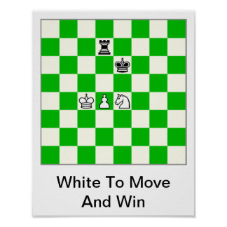 Chess Diagram Poster