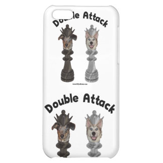 Chess Double Attack Dogs Case For iPhone 5C