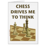 Chess Drives Me Card