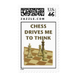 Chess Drives Me Postage