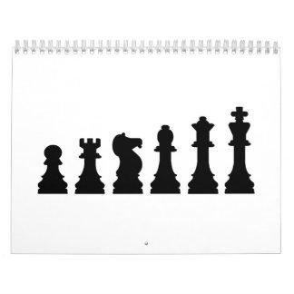 Chess evolution calendar
